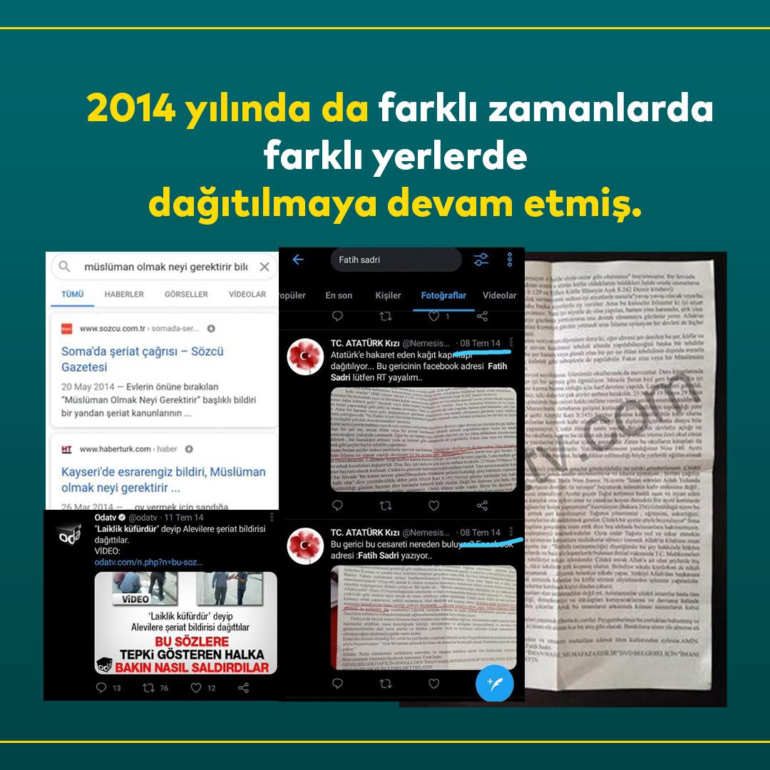Furkan Vakfı Ankara'da Şeriat Bildirisi Oda Tv