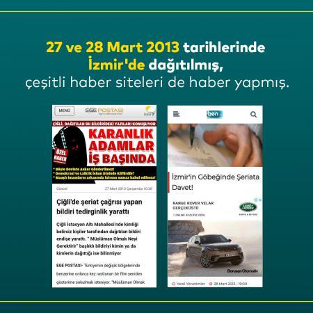 Furkan Vakfı Ankara'da Şeriat Bildirisi