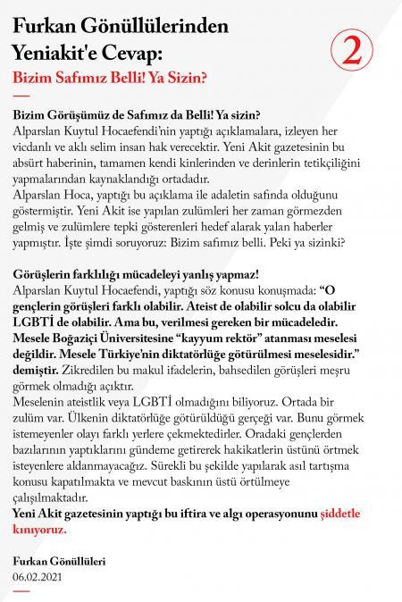 Alparslan Kuytul LGBTİ