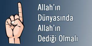 Davamız İslam